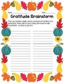 Gratitude Essay Writing Activity (Thanksgiving and Gratefulness)