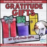Gratitude Gifts Craftivity | Christmas Activity | Social E