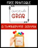 Gratitude Grab | A Thanksgiving Activity