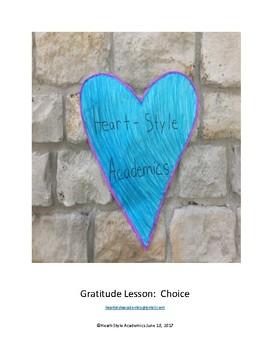 Gratitude Guided Meditation (choices)