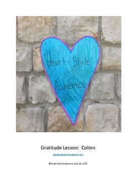 Gratitude Guided Meditation (colors)