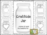 Gratitude Jar Journal