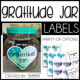 Gratitude Jar Labels