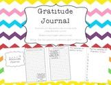 Gratitude Journal - 20 prompts