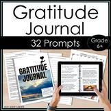 Gratitude Journal 30 Days of Thanksgiving