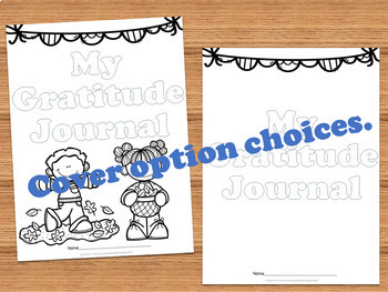Gratitude Journal- Thanksgiving Edition