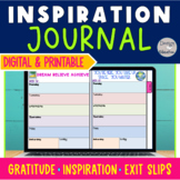 Gratitude Journal | Daily Agenda | Printable and Digital