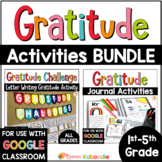Gratitude Journal | Gratitude Activities BUNDLE