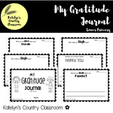 Gratitude Journal - Lower Primary