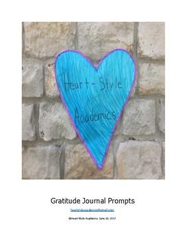 Gratitude Journal Prompts