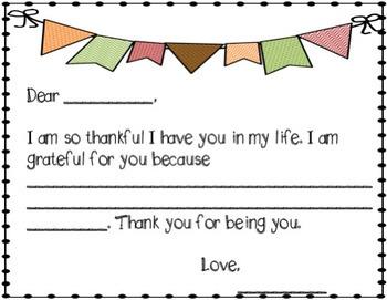 Gratitude Journal - Thanksgiving Themed
