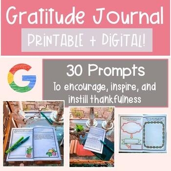 Gratitude Journal | Thanksgiving Writing