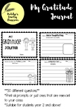 Gratitude Journal - Upper Primary