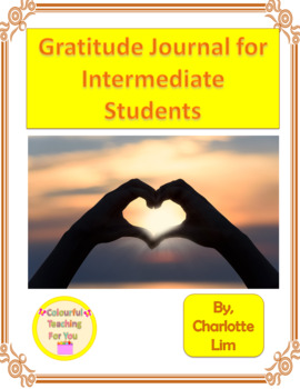 Gratitude Journal for Intermediate Students