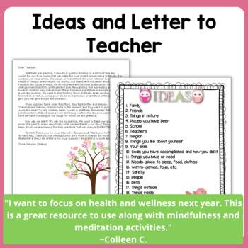 New Year's Gratitude Journal for Kids