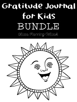 Gratitude Journals for Kids Bundle