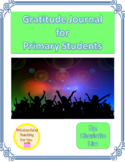 Distance Learning | Gratitude Journal for Primary Students