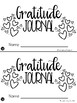 Gratitude Journal freebie
