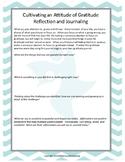 Gratitude Journaling Activity