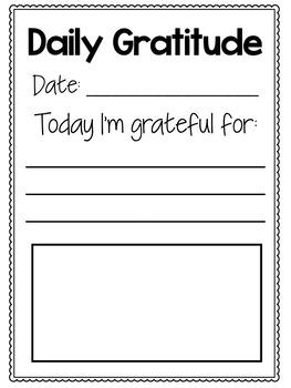 Gratitude Journals