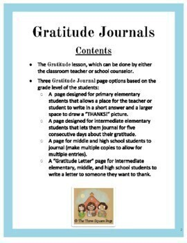 Gratitude Journals: Fostering Thankfulness in Students