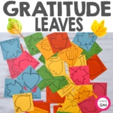 Gratitude Leaves Writing Activity | Thanksgiving Activity