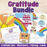 Gratitude Lessons Plans, Activities, Printables Bundle - U