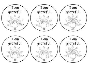 Gratitude Magnet Craft