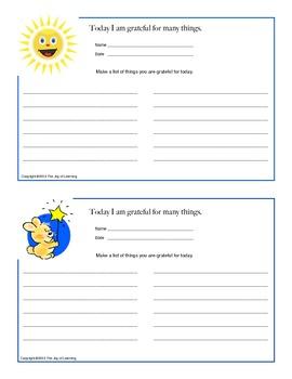 Gratitude - Make a List