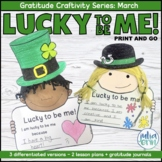 Gratitude March - St. Patrick's Day  | Craftivity & Writing  | Social Emotional