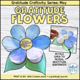 Gratitude May Spring - Flower Power  | Craftivity & Writing  | Social Emotional