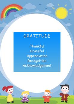 Gratitude - Meaning of Gratitude Poster