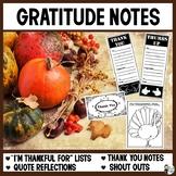 Gratitude Notes
