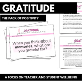 Gratitude - PACK OF POSITIVITY (Wellbeing)