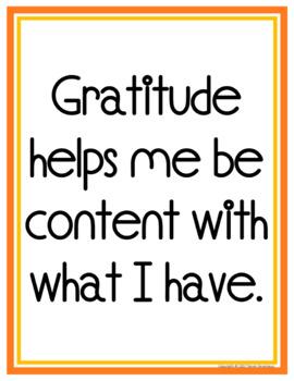 Gratitude Posters & Journal