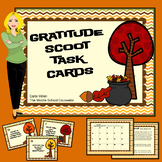Gratitude Scoot Task Cards