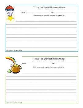 Gratitude - Sentences