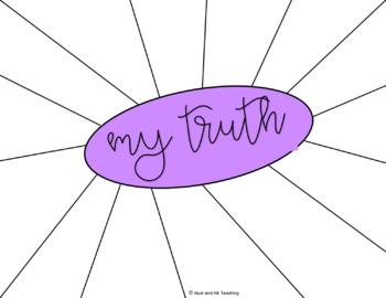 Gratitude Sketch Notes {A Visual Reflection Activity for Grades 7-12}
