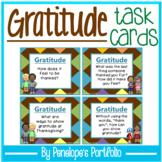 Gratitude Activity / Thankful Activity:  Social Skills Task Cards