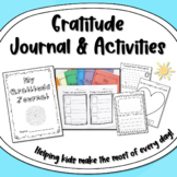 Gratitude / Thankful / Mindful Journal and Activities Pack