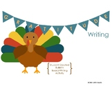 Gratitude Thanksgiving Writing Activity / Bulletin Board
