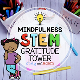 Gratitude Tower Mindfulness STEM Activity