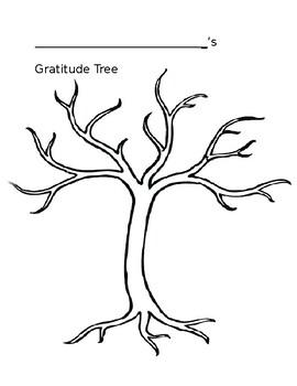 Gratitude Tree Activity