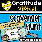 Gratitude Virtual Scavenger Hunt for Google Slides