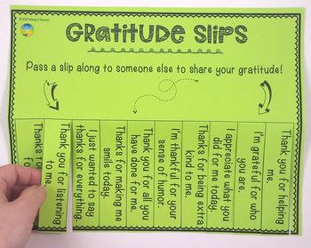 Free Gratitude Activities
