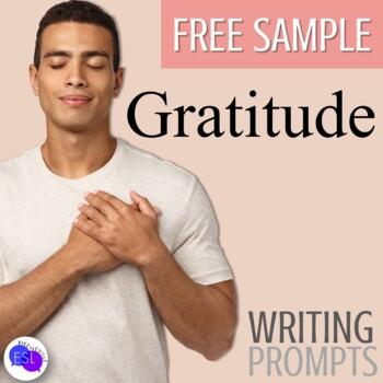 Gratitude Writing Prompts (Free Sample)