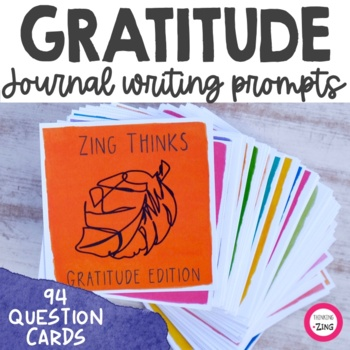 Gratitude Writing Prompts and Conversation Starters
