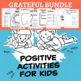 Gratitude Writing or Discussion Prompts BUNDLE