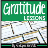 GRATITUDE Character Education Lessons