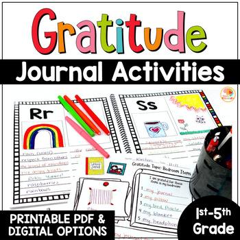Gratitude Journal | Gratitude Activities